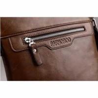 Sling Bag Pria Barnroro Import - Cokelat