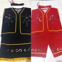 Baju dayak anak // pakaian dayak adat kalimantan