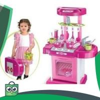 Mainan Masak - masakan Dapur Kitchen Set Koper Anak Perempuan berat