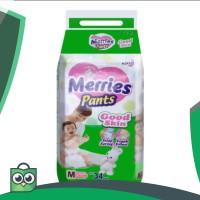 MERRIES PANTS M 34(tgl produksi 11/03/17) / RAJAMARKET