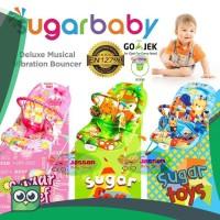 JessenBabyShop Sugar Baby Deluxe Musical Vibration Bouncher 1 Recline
