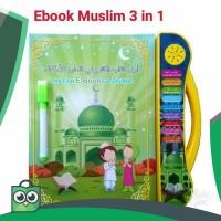 Mainan edukasi anak muslim ebook 3 bahasa