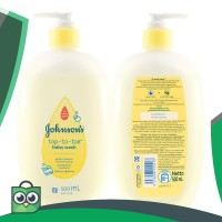 Johnson's Baby Top-to-Toe Wash Pump 500ml & Refill 400ml