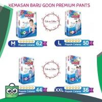 M62 / L50 / XL44 / XXL36 - KEMASAN BARU GOON PREMIUM PANTS   BONUS