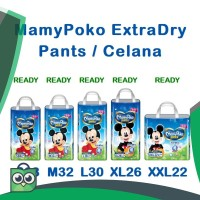 Mamypoko Pants Extra Dry Popok Celana S38 / M32 / L30 / XL26 / XXL22