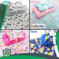Matras Bayi / Set Kasur Bayi / Baby Murah Lucu / Tempat Tidur Bayi
