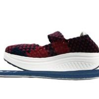 Merci Sepatu Wedges Rajut Anyam OGGO 501