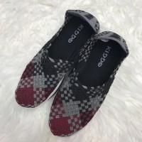 kiddo W579 wedges sepatu rajut