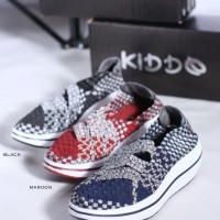 Sepatu Rajut KIDDO W528 Wedges Original