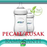avent philips milk bottle botol susu natural 260 ml