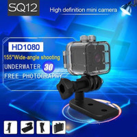 Spy cam Mini Dv SQ12 Waterproof/Kamera Pengintai SQ12 FullH Wide Angel