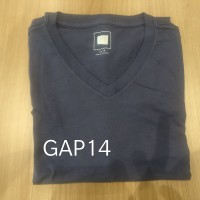 Kaos Gap Men Basic T-shirt Original Navy