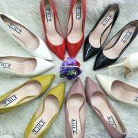 Sepatu Kerja TMT 9503-A Glosy / High Heels Import Tinggi 7 cm