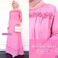 Dijual Baju Muslim Dress Mimosa Maxi Murah