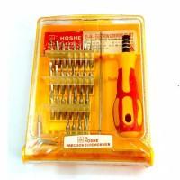 Obeng set 32 in 1 + pinset model kotak