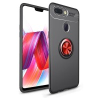 Oppo F9 Oppo F7 Oppo F5 Autofocus Softcase Magnetic Ring Case Cover