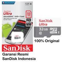 Sandisk Micro SD 32GB Non Adapter - Original