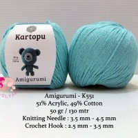 3 Ball Kartopu Amigurumi Total 5.28 Oz Each 1.76 Oz (50g) / 142 ... | 200x200