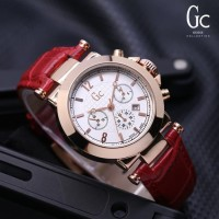 Unik Jam Tangan Wanita GC Kulit Guess Collection Berkualitas