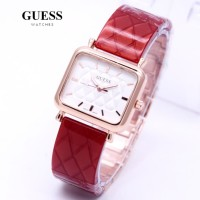 Dijual Jam Tangan Wanita Guess Fiber Brazz Body Rose Limited