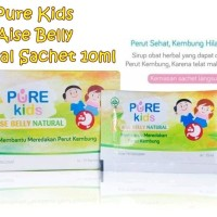 PERA110 PURE KIDS AISE BELLY NATURAL SACHET 10ML