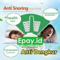 Klip Anti Dengkur Apnea Nose Clip Snore Stopper Ngorok TANPA CASE
