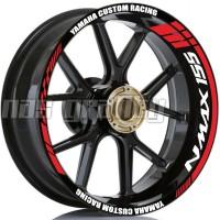 stiker velg nmax yamaha custom racing