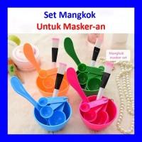 Set mangkok masker/wadah