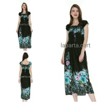 Dress Wanita Maxi Kerut/ Long Dress/ Dress Panjang Cantik Murmer