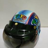Helm Anak model Bogo Kuda tayo Usia 7 - 10 Tahun