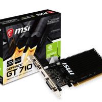 VGA MSI GeForce® GT 710 1GD3H LP