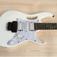 Gitar Ibanez jem flower white PU gnb korea