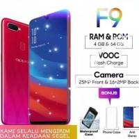 OPPO F9 Starry Purple, Red Ram 4GB/64GB Garansi Resmi 1 Tahun