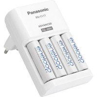 Eneloop charger BQ-CC55 1.5jam with 4LED