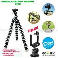 Gorilla Tripod - Gorillapod Ukuran Medium For Mirrorless & Action Cam