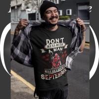 Kaos Bulan Lahir IMPORT - Don't Mess with a Man (Deadpool)