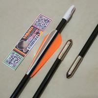 Arrow Anak Panah Fiber 7mm Spine 700 SHINY