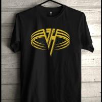 Kaos Van Halen Kaos Band Rock Metal Baju Clothig,Pusat,Distro,Pakaian
