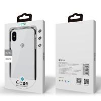IPHONE X / XS 5.8 TOTU FAIRY ORIGINAL HARD SOFT CASE TRANSPARAN COVER