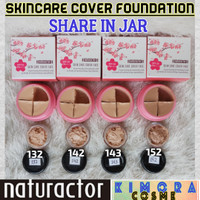 Naturactor Skincare Foundation Share in jar 5gr/Sample/Tester