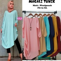 Baju Atasan fasion Wanita Magali Tunik Blouse Baju Muslim