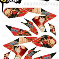 M29 Decal Sticker Vixion NVL Striping One Piece Luffy decal motor stik