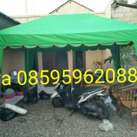 tenda cafe 2x3 tenda kerucut tenda stand tenda jualan
