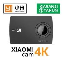 Kamera Xiao Mi Yi Discovery Action Cam 4K + Set Tongsis + Waterproof