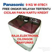 Mesin Cuci PANASONIC 9KG W97BC1 Mesin Laundry 9 Kg Twin Tub 2 Tabung