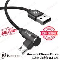 Kabel Data Micro Baseus Elbow Micro USB Cable 2A 1M