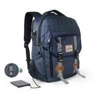Tas Ransel Laptop USB/Tas Pria/Backpack/Tas Carion/Eiger/Consina/Tas