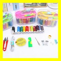 Set Alat Jahit Set Peralatan Jahit Benang Jarum Lengkap Sewing Box Kit