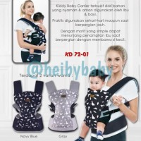 Kiddy [Non Hiprest / Hipseat] Baby Carrier