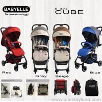 Stroller BabyElle Cube Stroler Bayi Lipat Kecil Kereta Dorong Bayi